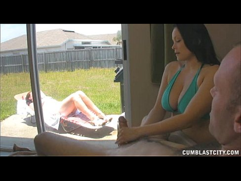 Sister Caught Brother Jerking Off, And Makes Him Cum A Lot